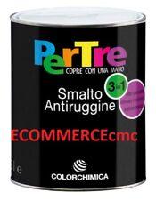 SMALTO ANTIRUGGINE PERTRE COLORCHIMICA 3in1 ML.750 ANTICORROSIVO, ALTO SPESSORE