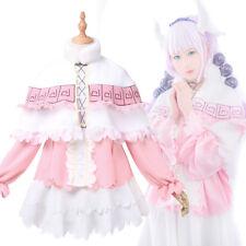 MISS KOBAYASHI'S DRAGON MAID KAMUI KANNA COSPLAY COSTUME WITH HEADBAND STOCKINGS
