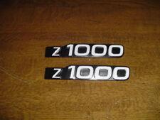 Kawasaki Z1000 Z 1000 Seitendeckel Embleme