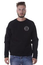 Felpa Versace Collection Sweatshirt Hoodie % Uomo Nero V800687AVJ00361-V008B