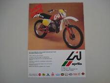 advertising Pubblicità 1978 MOTO APRILIA RC 125