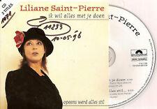 LILIANE SAINT-PIERRE ik wil alles met je doen CD SINGLE