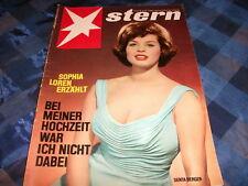 1298 Stern 1961  Nr. 3 Senta Berger Sophia Loren