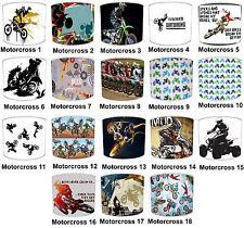 abat-jour idéal assorti Motocross couverture, Dirt bike Papier peint & MOTOCROSS