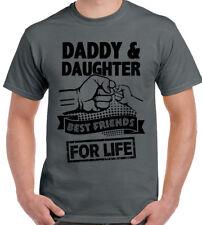 Papà e figlia migliori amici per la vita da Uomo Divertente padri Giorno T-SHIRT Dad Regalo