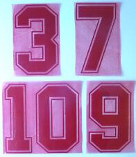 Flock Nummer number número home Trikot jersey shirt England 1988 1990