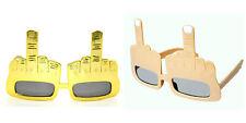 Natural/Gold Bird-Middle finger rocking party glasses
