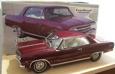 CHEVROLET CHEVELLE MALIBU SS 327 de 1965 1/18 EXACT DETAIL 504 voiture miniature