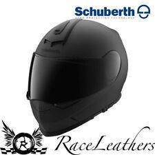 Schuberth S2 Sport Negro Mate Motocicleta Moto Casco ACU + Pinlock Insertar