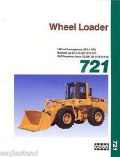 Equipment Brochure - Case - 721 - Wheel Loader (EB79)