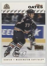 2001-02 Pacific Adrenaline Premiere Date 200 Adam Oates Washington Capitals Card