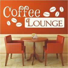 Wandtattoo Spruch Coffee Lounge Kaffee Wandaufkleber Wandsticker Aufkleber 3