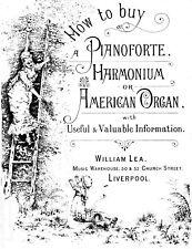HOW TO BUY A PIANOFORTE HARMONIUM OR AMERICAN ORGAN