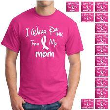 Breast Cancer Awareness Pink Ribbon Survivor Walk Support Tee T Shirt Shirts