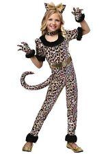 Girls Leopard Jumpsuit