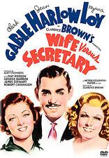 DVD: Wife Versus Secretary, Errol Taggart, Clarence Brown. New Cond.: Hobart Cav