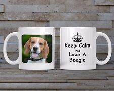 Beagle Mug, Keyring, Coaster - Dog Breed, Christmas, Birthday Gift