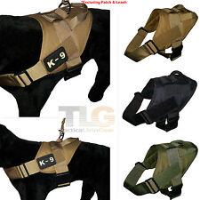 Tactical Dog K9 Training Lightweight Patrol Vest Harness [3 colors option]