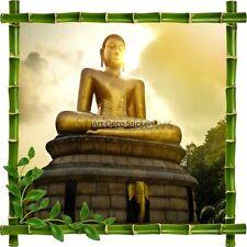 Sticker autocollant Cadre bambou Bouddha 7185