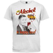 Alcohol Happy Hour Adult Mens T-Shirt