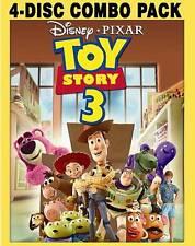 Toy Story 3 (Blu-ray/DVD, 2010, 4-Disc Set, )