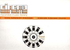 CINEMA LIBRARY.CRAWFORD TAIT / GREGOR REID.UK ORIG (2000) LP.EX/EX