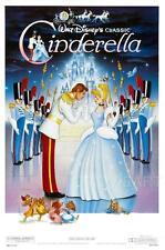 Cenerentola Disney vintage movie poster film a4 a3 arte stampa cinema #2