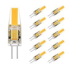 G4 2W COB LED Bulb Light  AC/DC 12V Equivalent to 20W T3 Halogen Track Bulb 10X