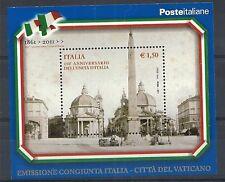 2011 ITALIA 150° ANN. UNITA' ITALIA MNH **
