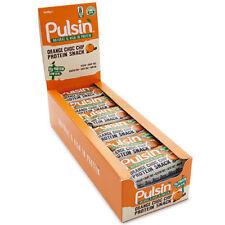 PULSIN proteína Bocadillo Barras 18 x 50g Natural Alta en sin gluten Vegan