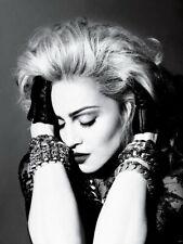 Madonna Amazing Portrait Pop Music Singer BW Giant Print POSTER Affiche