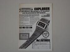 advertising Pubblicità 1977 EURONOVA
