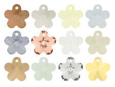 4 X Original PRECIOSA Checo Cristal Flor Colgantes 14mm * Todo Colores