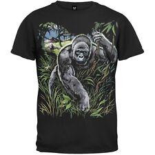 Gorilla All Over Print Adult Mens T-Shirt