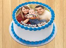 "7.5/"" PERSONALISED ROUND EDIBLE ICING CAKE TOPPER INDIANA JONES LAST CRUSADE"