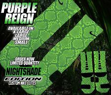 "NIKE AIR JORDAN XI 11 RETRO LOW ""NIGHTSHADE"" Custom Nike Elite Socks (ALL SZ)"