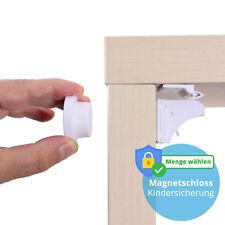 Kindersicherung Magnetisch Schranksicherung Schubladensicherung Baby Unsichtbar