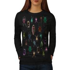 Colored Bugs Women Long Sleeve T-shirt NEW   Wellcoda