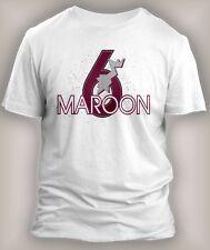 Mens Tee Shirt to Match Air Jordan Maroon 6 Classic t shirts Small to 10XL