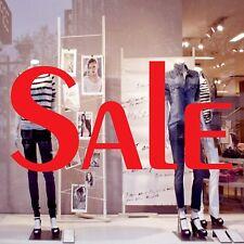 Large SALE Shop Window Sign Vinyl Sticker Retail Display Advertising Decal 8040