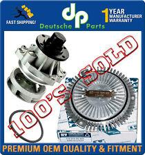 WATER PUMP METAL IMPELLER + GASKET + FAN CLUTCH for BMW E36 E34 E39 E46 E53 3 Pc