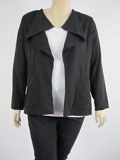 Millers Ladies Long Sleeve Waterfall Jacket size 16 Colour Black