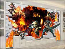 Cool Cartoon Characters 3D Full Wall Mural Photo Wallpaper Printing Home Kids De