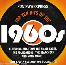 V/A - Top Ten Hits Pt 1: The 1960s (UK 15 Tk CD Album) (Sunday Express)