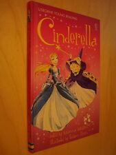 Usborne Young Reading 1 Cinderella NEUF Cendrillon Conte illustré en anglais