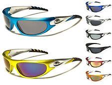 New XLoop Men Women Wraparound Rectangle Sunglasses Sport Cycling Running UV400