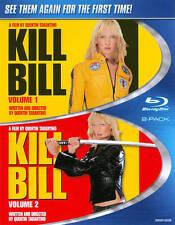 Kill Bill Vol. 1 & 2 (Blu-ray Disc, 2012, 2-Disc Set) NEW