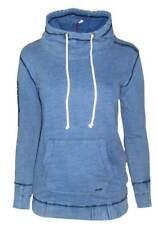 KANGAROOS Damen Sweatshirt Kapuzenpullover jeansblau GR. 32 34 36 38 NEU - SW38
