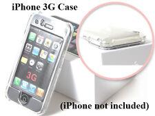 IPC Clear Apple iPhone 3G Premium Case Cover Smooth Plastic Hard Case