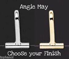 2 pcs* Horizontal Converter PIN BROOCH to SLIDE Pendant - Pick your finish!